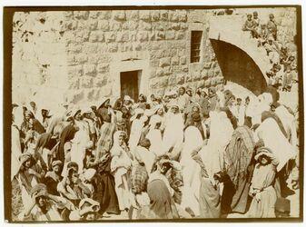 Fotografie [Trauer, Ramallah]