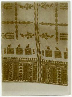 Fotografie Wandbehang bei Franz Vester American Colony Ramallah-Kopftuch
