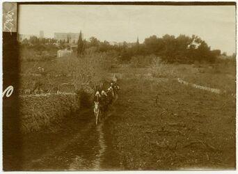 Fotografie Russenbesitz bei Hebron