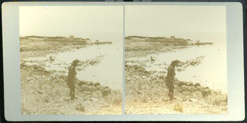 Stereofotografie Capernaum. [Kapernaum]
