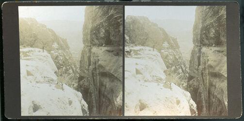 Stereofotografie Klausenschlucht Petra [Petra, Klausenschlucht]