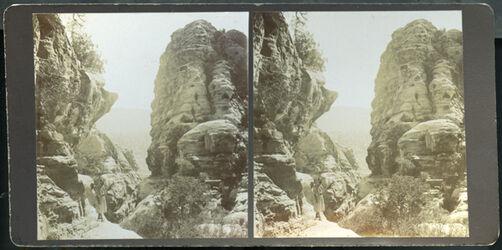 Stereofotografie Klausenschlucht Petra