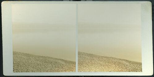 Stereofotografie Nordl. Ufer des Toten Meers