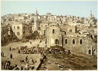 Photochrom Bethléhem.[Bethlehem]