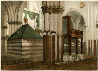 Photochrom Tombeau des Patriarches. [Hebron, Patriarchengrab]