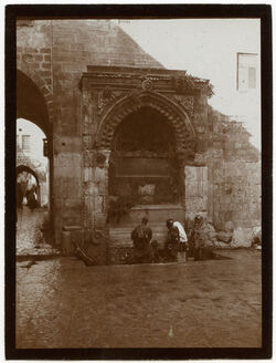 Fotografie Brunnen bei bab es-silsele [Jerusalem]