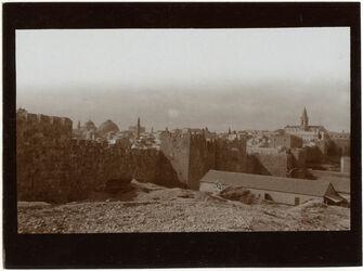 Fotografie Nordmauer b. Damaskustor [Jerusalem]