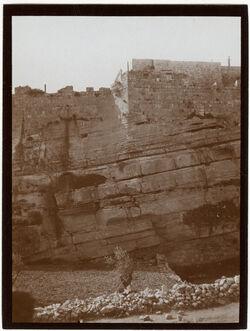 Fotografie Nordmauer Nr. III [Jerusalem]