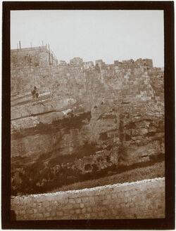 Fotografie Nordmauer Nr. IV [Jerusalem]