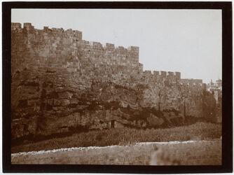 Fotografie Nordmauer Nr. V [Jerusalem]