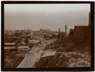 Fotografie Aufgang z. Jaffator [Jerusalem]