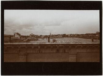 Fotografie Gegend am Mamillafriedhof über Dach [Jerusalem]