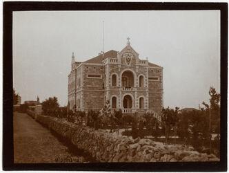 Fotografie Deutsches Pfarrhaus v. [?] S. [Jerusalem]