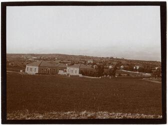Fotografie Aussätzigenasyl in [?] d. Kolonie v. [?] O [Jerusalem]