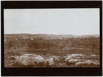 Fotografie Deutsche Kolonie v. N [Jerusalem]