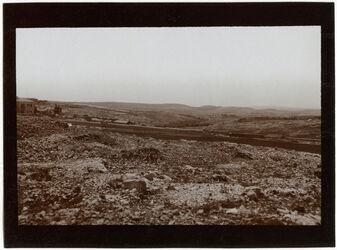 Fotografie Von d. Jaffastr. Blick n. S. über Teil des Kreuzklosters n. mar eljas [Jerusalem]
