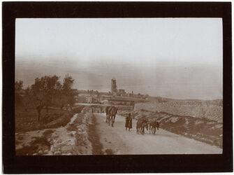 Fotografie Dormitio v. d. Strasse z. D. Kolonie [Jerusalem]