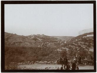 Fotografie Kidrontal u. silwan v. N [Jerusalem]