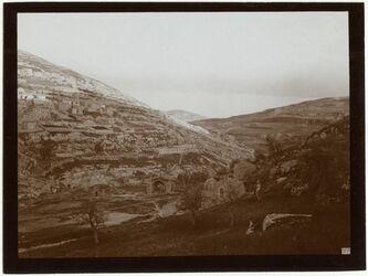 Fotografie Hiobsbrunnen u silwan v. NW [Jerusalem]