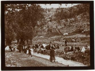 Fotografie Am Bach des Hiobsbrunnens [Jerusalem]