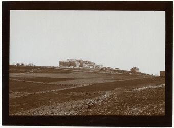 Fotografie Ölbergstiftung (im Bau) v. SW [Jerusalem]
