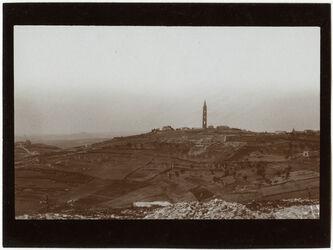 Fotografie Russenkuppe n. N v. O Gärtnerwohnung der Ölbergstiftung [Jerusalem]