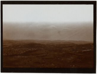 Fotografie Ostabhang des Ölbergs, abu diz v. Gärtnerhaus der A. V. Stiftung [Jerusalem]