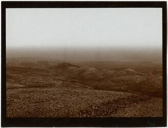 Fotografie Blick n. SO v. d. Gärtnerwohnung d. Ölbergstiftung [Jerusalem]