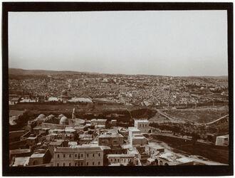 Fotografie V. Russenturm [Ölberg] n. S Nr. II [Jerusalem]