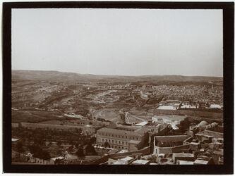 Fotografie V. Russenturm [Ölberg] n. S Jerus. Nr. I [Jerusalem]