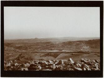 Fotografie Pan. v. ras el-mukabbir Blick n. SW. (ferdis, sur bahir)