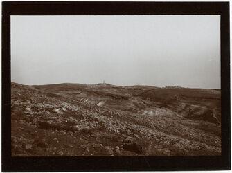 Fotografie Ölberg, abudis v. S jenseits d. w. [wadi] en-nar