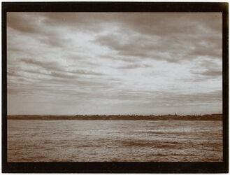 Fotografie Nordvorstadt v. Jaffa v. Schiff bei Sonnenaufgang