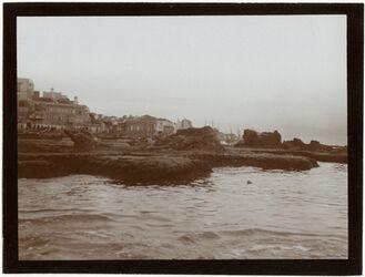 Fotografie Hafenklippen, n. Jaffa