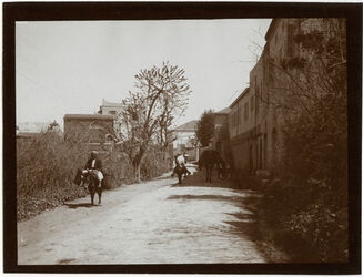 Fotografie An der deutschen Kolonie in Jaffa