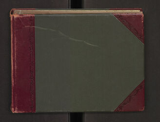 Fotoalbum Inst. [Jerusalem, Palästina-Institut] 1903-5 [handschriftlich auf dem Rücken des Albums]