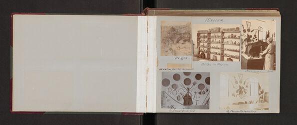 Fotoalbum Museum. [Jerusalem, Palästina-Institut]