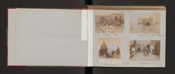 Fotoalbum Im Herbst 1903. [Jerusalem, Palästina-Institut]