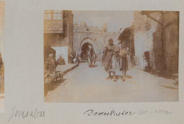 Fotoalbum Jerusalem Damaskustor von innen