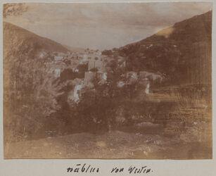 Fotoalbum nablus von Westen.