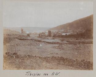 Fotoalbum Tiberias von NW.