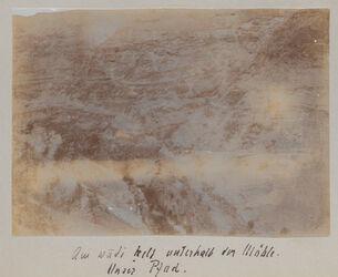 Fotoalbum Am wadi kelt unterhalb der Mühle. Unser Pfad.