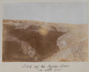 Fotoalbum Blick auf das Choziba-Kloster im wadi kelt.
