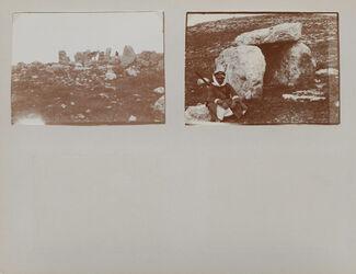 GDIs01133; Fotoalbum; Frühjahr 1904., Album Gustaf Dalman, 1903-05, Blatt 10 Rückseite bis 11 Vorderseite [Einzelbilder: GDIs01134-GDIs01139]