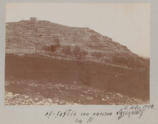 Fotoalbum et-tafile von unserm Lagerplatz im N. 21. März 1904.