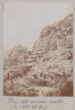 Fotoalbum Petra, wadi me