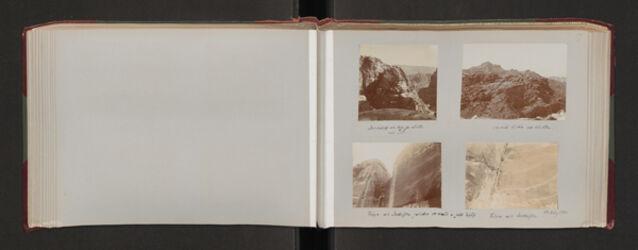 Fotoalbum Altar von ed-der [Petra]. Dalman Oehler