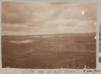 Fotoalbum eg-gib [edj-djib, edsch-dschib] von en-nebi samwil. 4. Febr. 1905