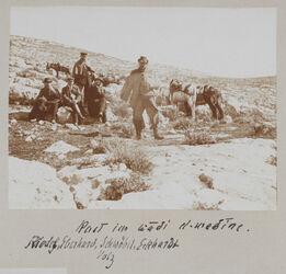Fotoalbum Rast im wadi el-medine. Riedel, Eberhard, Schwöbel, Eckhardt Volz
