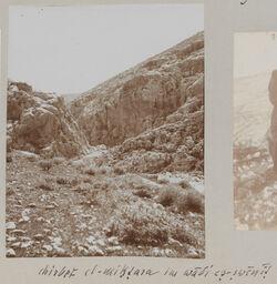 Fotoalbum chirbet el-miktara im wadi es-swenit